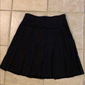 Bcbg black midi skirt